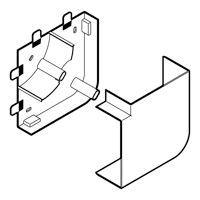 Angle plat Planet Wattohm 85x50 pour goulotte LOGIX 680332