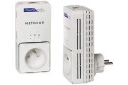 CPL NETGEAR XAVB5501 GIGABIT 500MBPS + Prise électrique
