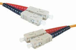 Câble fibre optique multimode 62.5/125 OM1 SC/SC 2m
