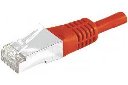 Câble ethernet Cat 6a 10m SFTP rouge