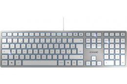Clavier CHERRY KC 6000 USB argent/blanc