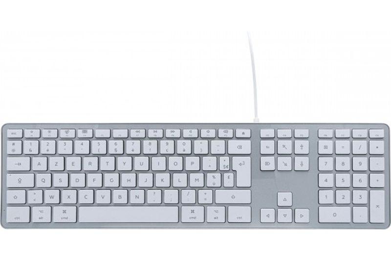 Clavier filaire USB blanc - Spécial Mac