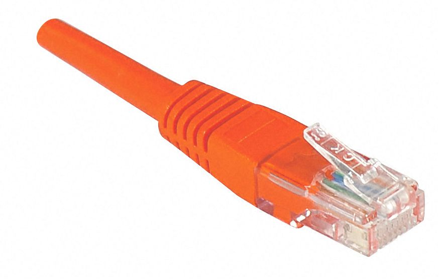 Câble ethernet Cat 5e 0.50m UTP rouge