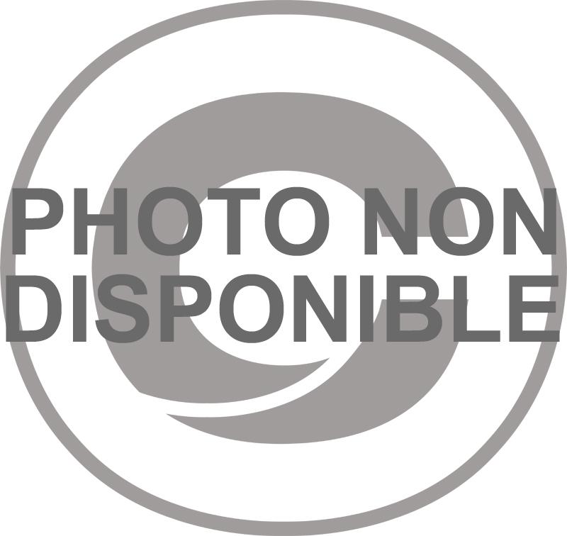 Clip de fixation rond blanc 8mm (100 pieces/boite)