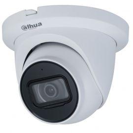 Caméra de surveillance IP dôme extérieure POE HD 4MP micro intégré - 2.8mm blanche