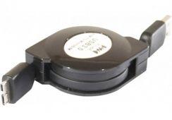 Cable USB 3.0 vers micro USB B rétractable 1m