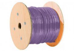 Touret de câble RJ45 CAT6 250 Mhz monobrin UTP LSOH 500m