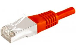 Câble ethernet Cat 6a 0.15m FTP rouge