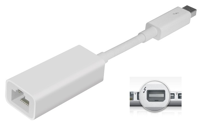 Adaptateur Thunderbolt vers Ethernet
